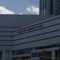 Photo taken at ANA Crowne Plaza Kobe by Makoto Y. on 6/16/2013