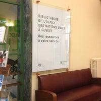 Photo prise au Library of the UNOG Building par Ari* B. le12/6/2012