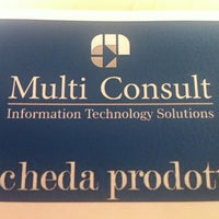 Photo taken at Multi Consult Srl by Roberto T. on 5/15/2013