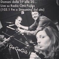 Foto scattata a Radio Città Fujiko 103.100 da Eugi A. il 3/23/2013