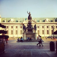 Photo taken at Piazza Carlo Alberto by Eugi A. on 9/22/2012