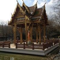 Photo taken at Japanischer Garten by Franz H. on 4/1/2013