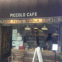 Photo taken at Piccolo Cafe by Isabel Z. on 5/15/2013