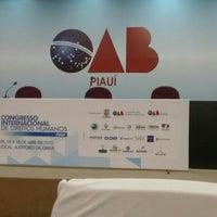 Photo taken at Ordem dos Advogados do Brasil - OAB/PI by Aline S. on 4/10/2015