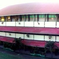 Photo taken at SMAN 58 Jakarta by Sandy on 11/22/2013