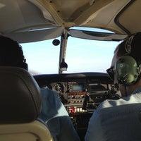 Photo taken at Aérodrome de Chavenay Villepreux by Elsa D. on 3/8/2014