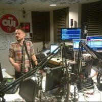 Photo taken at Ouï FM by Thomas J. on 5/15/2013
