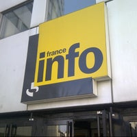 Photo taken at France Info by Thomas J. on 5/20/2014