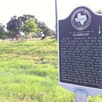 Photo taken at Hammond Historical Marker by Mark C. on 6/27/2013