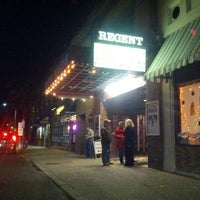 Photo taken at Regent Theater by DayTripper D. on 10/26/2012