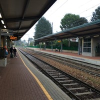 Photo taken at Stazione Mariano Comense by Laura T. on 8/26/2014