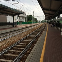 Photo taken at Stazione Mariano Comense by Laura T. on 6/23/2014