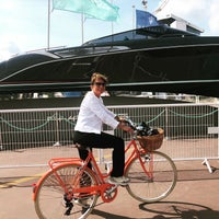 Photo taken at Cannes International Boat & Yacht Show by Laura T. on 9/15/2018