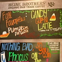 Photo taken at Heine Brothers' Coffee by karla p. on 11/10/2017