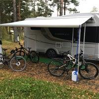 Photo taken at Camping Santalahti by Pegga on 10/6/2017