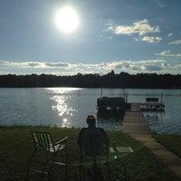 Photo taken at Johns lake by Jeffrey E. on 7/3/2014
