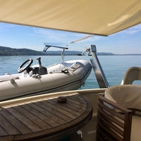 Photo taken at M/Y Present Moment at Ligerz Port by Victor S. on 7/18/2014