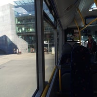 Photo taken at Bus 5 Zug Oberwil by Victor S. on 2/12/2014