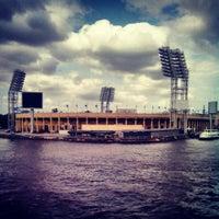 Photo taken at Стадион «Петровский» by Рома К. on 7/23/2013