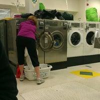 Photo taken at Green Collar Laundromat by La on 5/22/2013