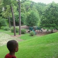 Photo taken at Rushton Park by Joseph B. on 6/24/2013