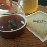 6/6/2017にLogan C.がHaw River Farmhouse Alesで撮った写真