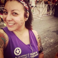 Photo taken at San Antonio Rock N Roll Marathon by Raquel P. on 11/11/2012