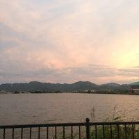 Photo taken at 児島湾 by Kei M. on 7/18/2013