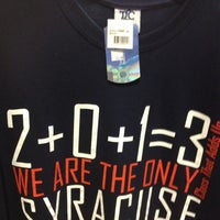 Photo taken at SU Bookstore by Darryl M. on 6/10/2013