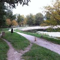 Photo taken at Lac Montmeillan by Emmanuelle R. on 10/20/2012