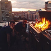 Photo taken at Meetup HQ Roof Deck by Ryan R. on 7/25/2014
