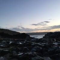 Photo taken at Tresaith Beach by Benjamin S. on 7/2/2016