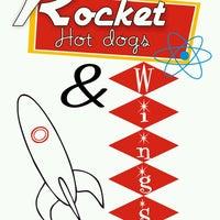 Photo taken at Rocket Hot Dogs & Wings by El yorsh .. on 8/24/2013