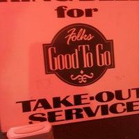Photo taken at Folk's by Tim C. on 4/3/2013