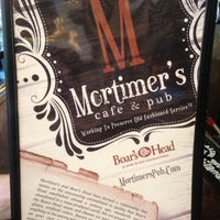 Photo taken at Mortimer's Cafe & Pub by Ashley B. on 7/18/2013