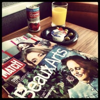 Photo taken at Air France VIP Lounge by Lore M. on 5/15/2013