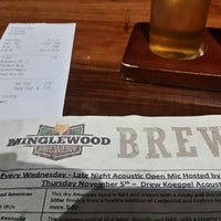 Photo taken at Minglewood Brewery by John C. on 11/6/2015