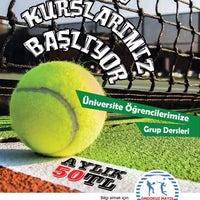 Photo taken at 19 Mayıs Üniversitesi Tenis Kortları by Kadir E. on 10/11/2015
