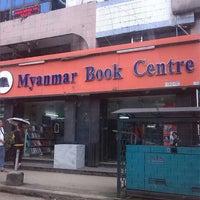 Photo taken at Myanmar Book Center by Tayar H. on 8/14/2013