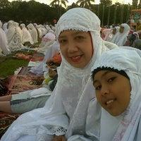Photo taken at Taman Blambangan by ning b. on 8/7/2013