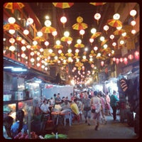 Photo taken at Petaling Street (Chinatown) by Lim Z. on 10/3/2013