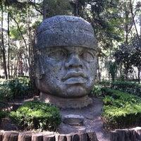 Photo taken at Parque Luis G. Urbina (Parque Hundido) by Saul C. on 3/9/2013