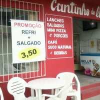 Photo taken at Cantinho do Lanche by Agatha P. on 5/17/2013