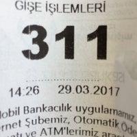 Photo taken at Ziraat Bankası by Mustafa G. on 3/29/2017