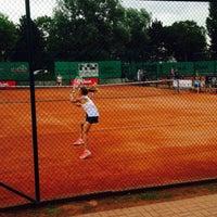 Photo taken at Tennis Club Duinbergen by Camille W. on 8/11/2015
