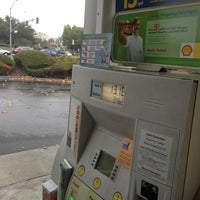Photo taken at Shell by Emil S. on 11/8/2012