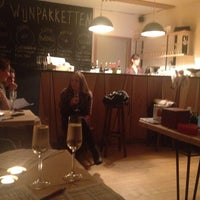 Photo taken at Evín Wine store & bar by Frederique L. on 11/28/2013