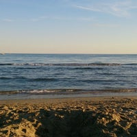 Photo taken at Plage du Couchant by Emmanuel T. on 8/19/2015