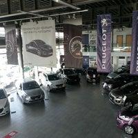 Photo taken at Peugeot by Liubava on 9/20/2014