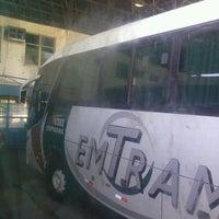 Photo taken at Terminal Rodoviário Engenheiro Huascar Angelim by Maicon S. on 7/18/2013